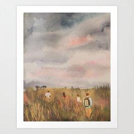 Into the Wild, Botswana Safari Art Print