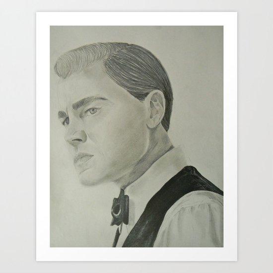 Jay Gatsby - Leonardo DiCaprio Art Print