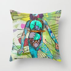 This is really happening Throw Pillow