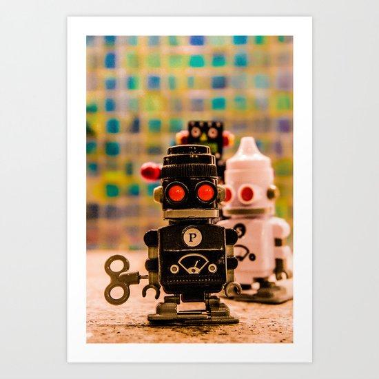 S&P Art Print