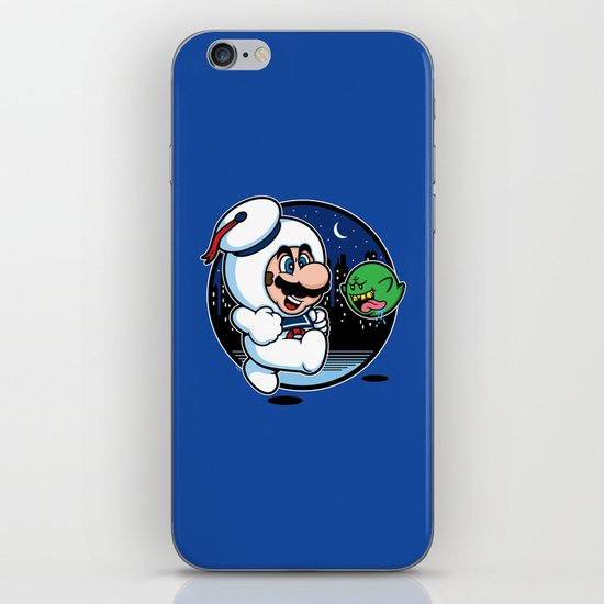 Super Marshmallow Bros. iPhone & iPod Skin