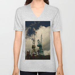 Harbor Crane Unisex V-Neck
