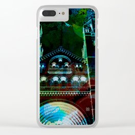 UK, England, London, Natural History Museum, the facade Clear iPhone Case