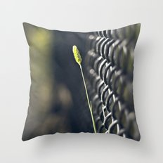 Twig & Fence Throw Pillow