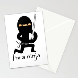 I'm a NINJA! Stationery Cards