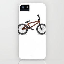 #17 BMX iPhone Case