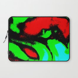 Osile multicolor red green Laptop Sleeve