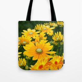 GOLDEN YELLOW  FLOWERS  GARDEN Tote Bag