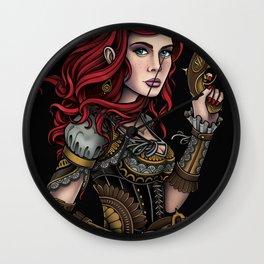 Musketeer Girl Wall Clock