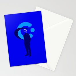 Elliot Carver Stationery Cards