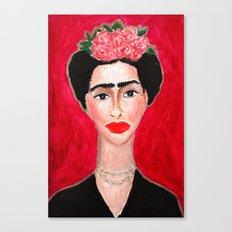 Frida Portrait Canvas Print