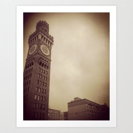 .tower. Art Print