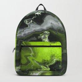 Lime Green Lightning Backpack