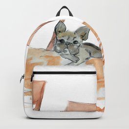 Green Muse, art by BoubouleArt Backpack
