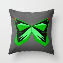 Verdefly Throw Pillow