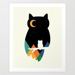 Eye On Owl Art Print