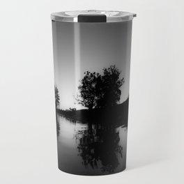 BLACK GLASS Travel Mug