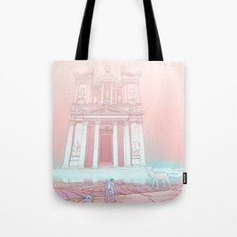 Temple of Reflection Tote Bag
