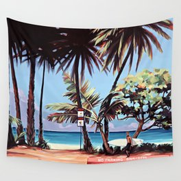 Sunset Surf Wall Tapestry