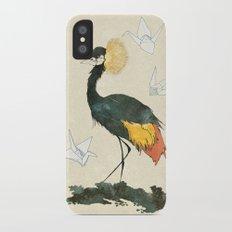 Paper cranes iPhone X Slim Case