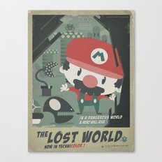 mario bros 4 fan art Canvas Print