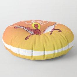 """Inner Peace """"b"""" Floor Pillow"""