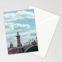 Pont Alexandre III, Paris  Stationery Cards