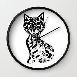 Cat Ecopet Wall Clock