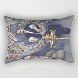 magicien magie 5 Rectangular Pillow