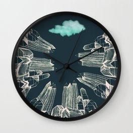 Dark Area Wall Clock