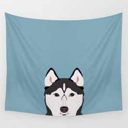Shiloh - Husky Siberian Husky dog art phone case perfect gift for dog people Wall Tapestry