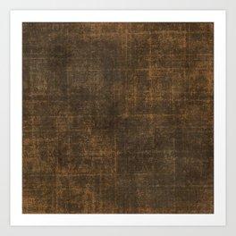 Brown Leather Art Print