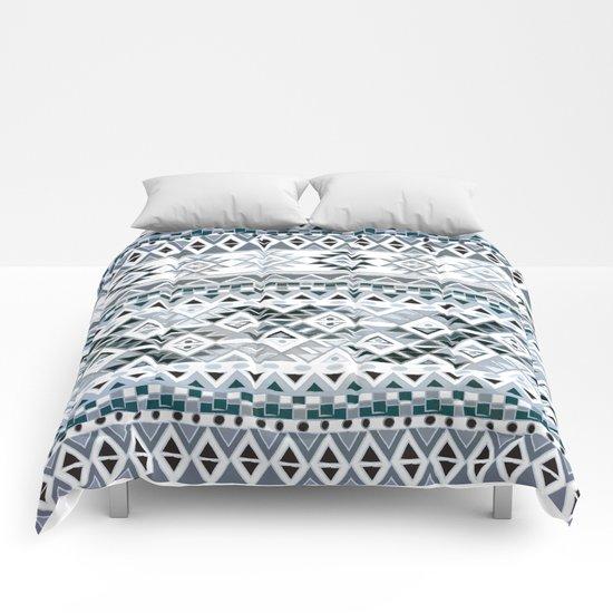GEO TRIBAL N. // GRAY VERSION Comforters