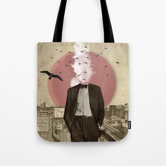Hot Under The Collar Tote Bag
