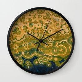 Ocean Jasper Wall Clock