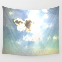 serenity Wall Tapestries featuring SERENITY by Chrisb Marquez