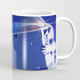 Synthwave Space #21: Tanks and astronauts, Moon Coffee Mug