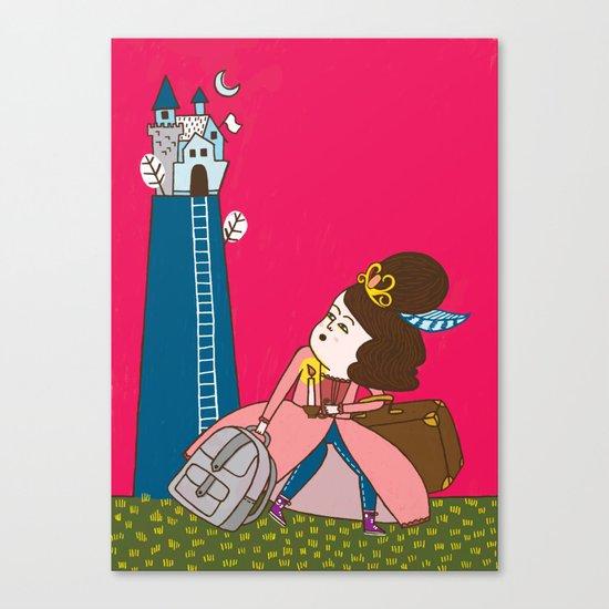 Runaway Princess Canvas Print