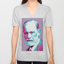 Sigmund Freud Unisex V-Neck