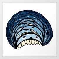 minions Art Prints featuring Minions by Bird and Bear Studio
