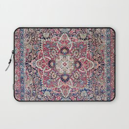 Kashan Central Persian Rug Print Laptop Sleeve