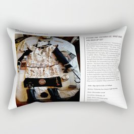 My Life Is Like A Collage / Art Stories Rectangular Pillow