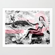 Finding Poise Art Print