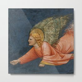 Two Angels - North Italian Painter (first quarter 14th century) 2 Metal Print