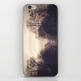 dreamy trees iPhone Skin