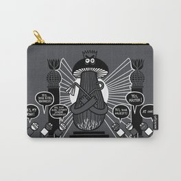 King Mushroom Carry-All Pouch