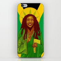 marley iPhone & iPod Skins featuring St. Marley by ofGiorge
