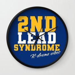 2nd Lead Sydrome Kdrama Vibes Wall Clock