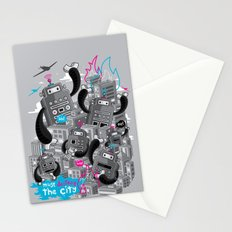Must destroy the city - Revisited Stationery Cards