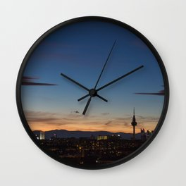 Madrid Wall Clock